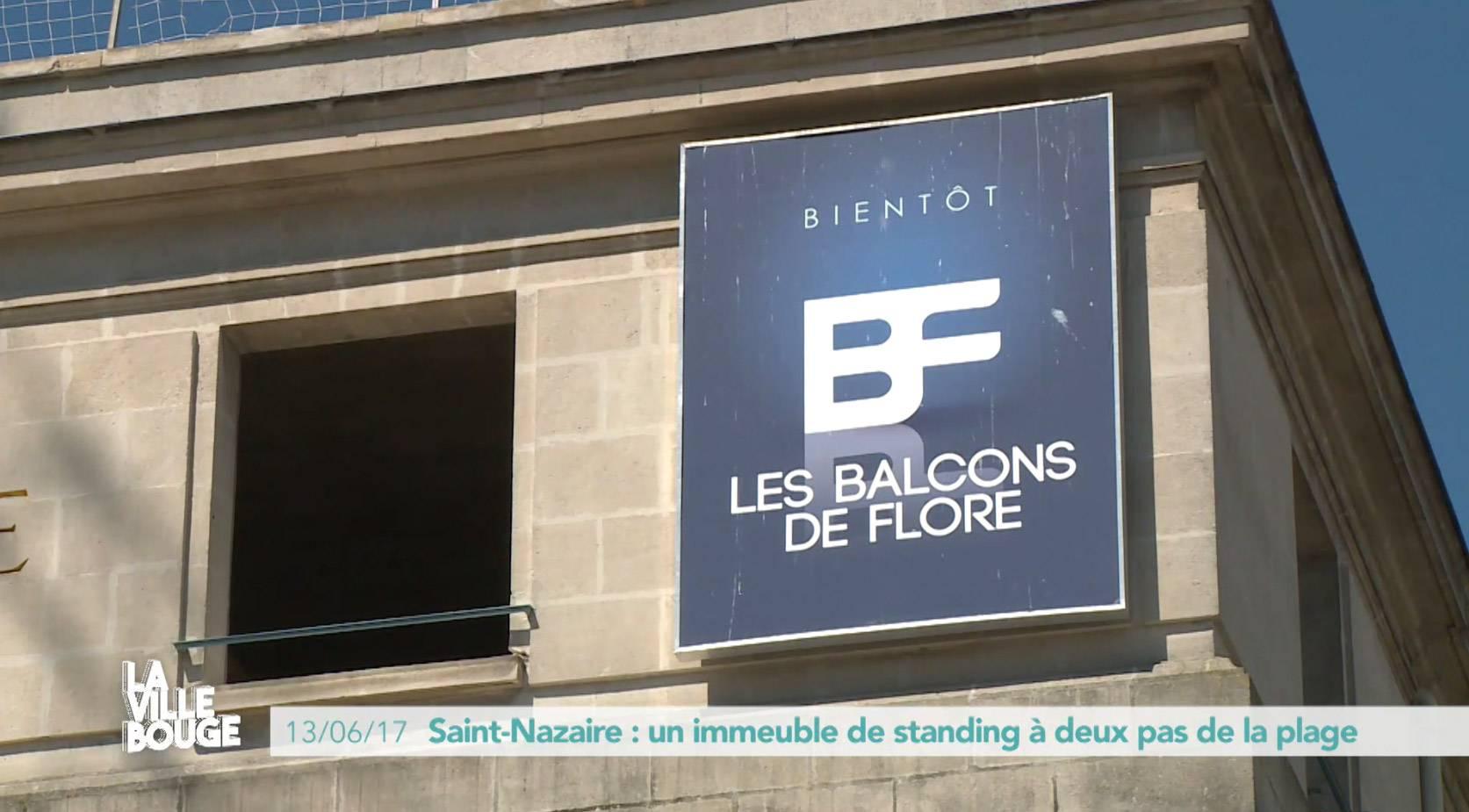 L'ancienne Banque de France à Saint Nazaire devient Les Balcons de Flore, une résidence de standing -Groupe Cisn Atlantique